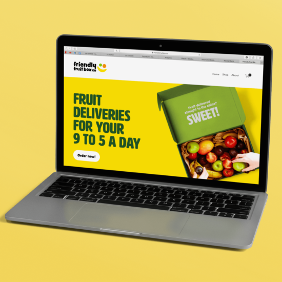 Foundry12 | Our Work | Friendly Fruit Box Co Website Homepage