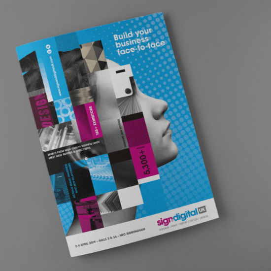 Foundry12 | Our Work | Sign & Digital UK Sales Brochure Cover