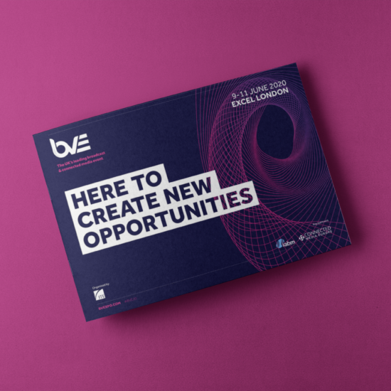 Foundry12 | Our Work | BVE Event Printed Brochure Cover
