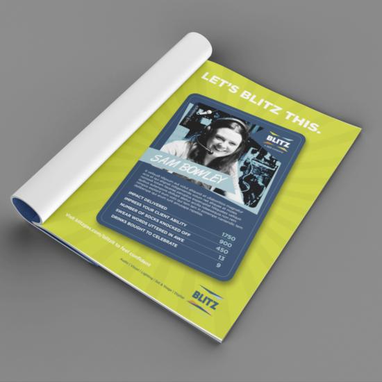 Foundry12 | Our Work | Blitz Magazine Advert