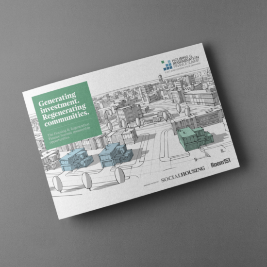 Foundry12 | Our Work | Housing & Regeneration Finance Summit Printed Media Pack