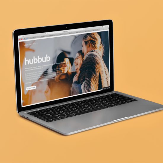Foundry12 | Our Work | Hubbub Website