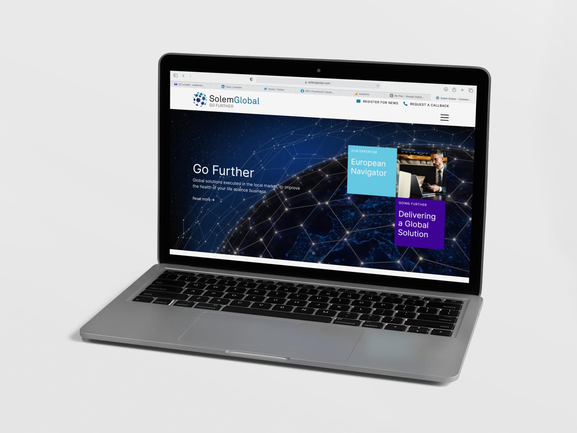 Foundry12 | Solem Global website 3