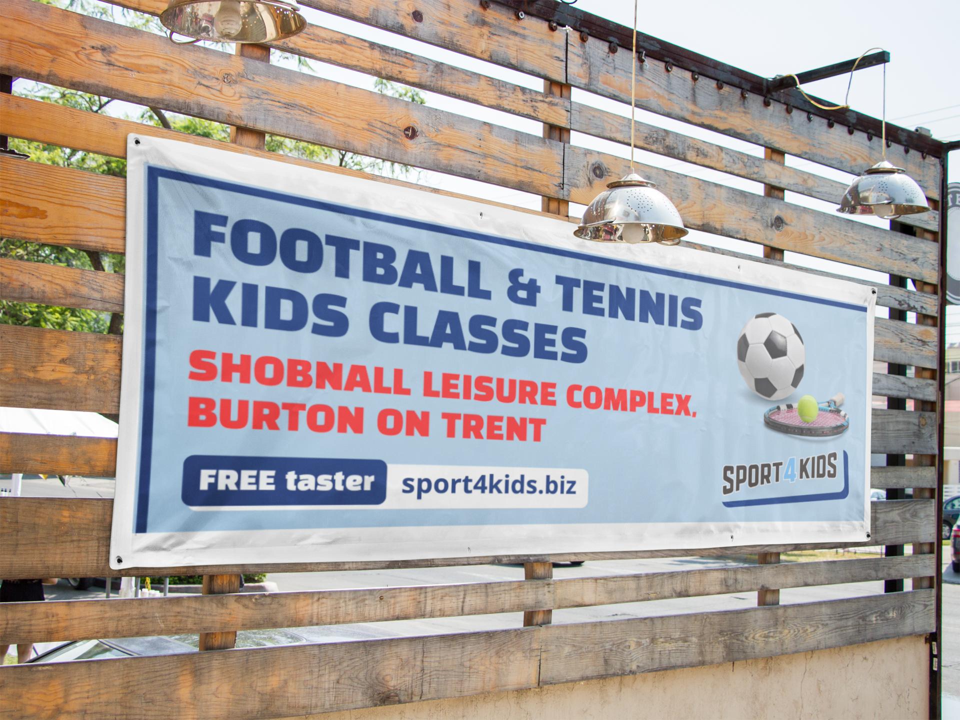 Foundry12 | Sport4Kids OOH banner